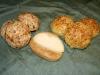 Käse-, Zimtmandel-, Quarkbrötchen